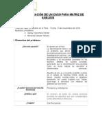GUÍA DE PREPARACIÓN DE UN CASO PARA MATRIZ DE ANÁLISIS