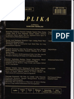 Jurnal Aplika Vol.12;No.1