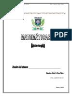 Antologia Ecuaciones Diferenciales 2012
