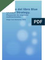 Ensayo Del Libro Blue Ocean Strategy