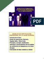 Modelos de Competencias en UE