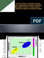 Analisa Avo Dan Attribut Seismik Untuk Memperkirakan Sebaran
