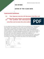 2015 Diuresis Class Data Summary