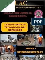 ENSAYO N° 09 DISEÑO DE MEZCLAS