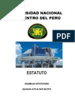 Nuevo Estatuto Universidad.nacional.del.Centro.del.Peru