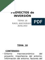Entorno macroeconómico del proyecto