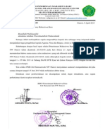 Surat Keputusan Tim Seleksi Pmb Iaih