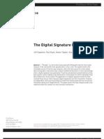 Digitial Signature Paradox White Paper