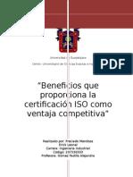 Protocolo sobre los beneficios de las ISO