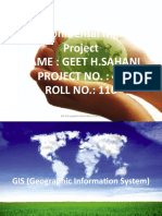 GIS (Global Information System)