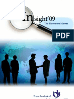 Insight 09 Placement Guide IIT Kanpur