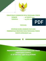 Standar Harga Prov. NTT 2015