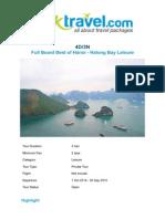 Package_ 4D_3N Full Board Best of Hanoi - Halong Bay Leisure _ Yuktravel