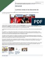Andrzej Duda Gana La Primera Ronda en Las Elecciones de Polonia