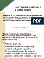 20.01.2015 Actualizacion Tributaria Aplicable Al Ejercicio 2015