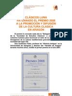 Clasicos Luna Premio 2008 Estudios Clasicos