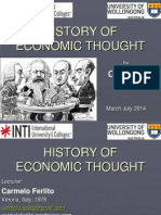 History of Economic Thought (Carmelo Ferlito)