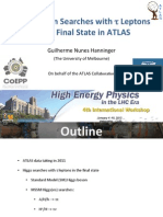 Higgs Taus ATLAS - Nunes 12