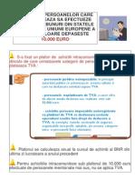 plafon achizitii intracomunitare 10000 euro