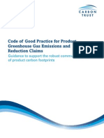 Code of Good Practice for Product Greenhouse