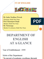 Department of English 2