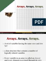 2-1 Arrays