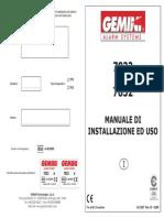 Gemini 7832 7833 Manual