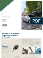 Hyundai i30 brochure