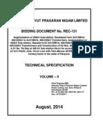 110 400kV Specification