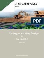 Underground Mine Design