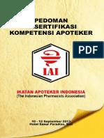 Pedoman Sertifikasi Kompetensi Apoteker(1)