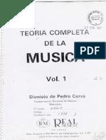 Teoría de La Música - Dionisio Pedro de Cursa 1
