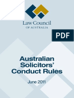 Aus SolicitorsConductRules