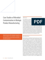 Cases study of microbiological contamination2011