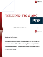 Welding Tig & arc PPT