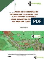 Aportación de Los SIT al Desarrollo Económico Local