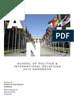 2014 ANU SPIR Handbook