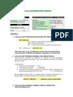 Cálculo Del Reductor Molino 9 x 13 Pta Paragsha