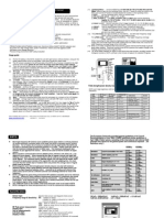 ED 78S User Manual