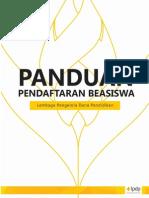 Booklet - Beasiswa LPDP Bismillah Goal.pdf