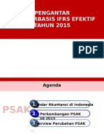 Overview Pengantar Implementation IFRS 13042015
