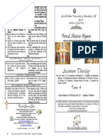 2015-21 May-Ascension _& St Constantine & St Helena