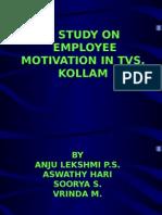 A STUDY ON Motivation