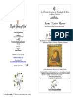 2015 - 25 May - John Baptist - 3rd Finding