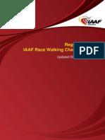IAAF Race Walking Challenge Regulations 2009