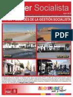 Moguer Socialista. Abril 2015.