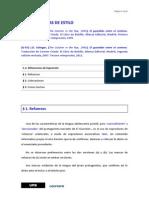 Correccion y estilo en español