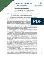 El MECD Convoca El Curso Sobre El Desarrollo de La Función Directiva