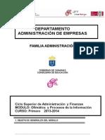 Programación Ofimatica y Procesos de La Informacion