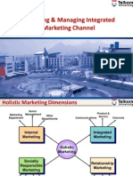 Designing and Managing Integrated Marketing Channel